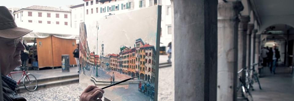 Udine: piazza San Giacomo (ph Alessandro Castiglioni)